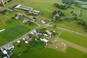 Letecký pohled H.H. - rogalo