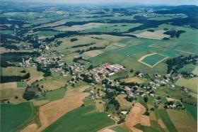 Letecký pohled H.H.