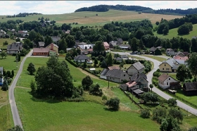 Panorama Horních Heřmanic